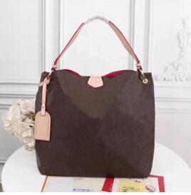 Бесплатная Доставка!2019 мода высокое качество бренды 100% натуральная кожа женская сумка изящные сумки crossbody сумки на ремне сумки M43701