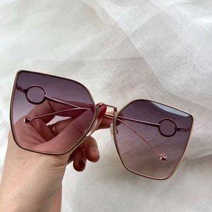 السيدات 0323 / S القط العين النظارات البني / روز التدرج العدسات نظارات الشمس مصمم النظارات الشمسية uv400 شاطئ نظارات جديد مع مربع