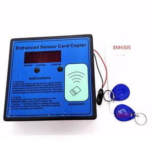 Fcarobd all'ingrosso 125-135khz RFID ID EM Card Reader Enhanced Sensor Copiatrice con 2 pezzi tag keyfob e 3pcs carte per Auto Garage Door