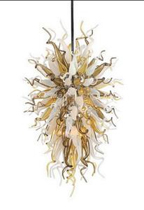 Soffiato di lusso piuttosto Chandelier moderna Art Decor Ciondolo Chihuly mano di stile Luce Murano Glass Hotel Chandelier Lighting