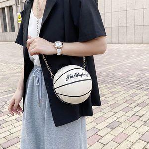 Mujeres Moda para mujer de baloncesto en forma de Crossbody de la PU de cuero bolso monedero del totalizador del mensajero de la taleguilla de alta calidad y Nueva