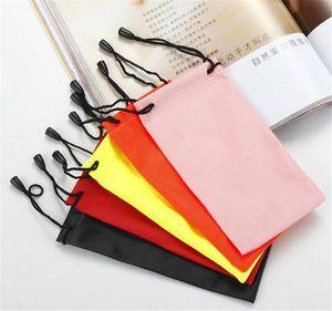 Pochette imperméable à l'eau douce Lunettes de vue Sac en plastique SunGlasses Case Bags Étanche à l'eau Tissu Mobile Téléphone Sac Bijoux Sac De Rangement Populaire