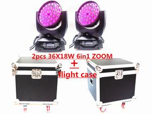 36x12W 36x15W 36x18W 4in1 5in1 6in1 zoom LED hareketli kafa + ışık RGBWA UV DMX LED kafa yıkama ışını etkisi ışık hareket Flightcase