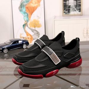 sneakers novos homens do desenhista de luxo forro superior respirável pele de carneiro confortáveis e elegantes esportes ao ar livre sapatos casuais