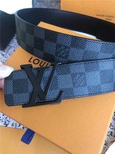 Migliori designer di qualità cinture mens designer Cintura uomo fibbia della cintura di lusso per le cinghie di cuoio mens moda uomo per uomini / donne con la scatola e tag
