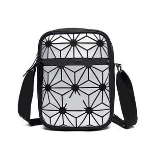 Unisex Moda Crossbody Borse di alta qualità ragazze estate casuale di Crossbody Fanny Pack di riflettente Laser Donne cintura in vita Bum Shoulder Bags