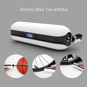 vb Basketbol, MTB Yol Bisikleti için 150PSI Bisiklet Elektrikli Şişirme Bisiklet Döngüsü Hava Basıncı Pompası Şarj edilebilir Kablosuz Lastik Pompası