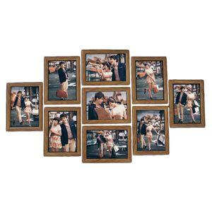 9 Teile / los Bild Hängen Rahmen Wand Bilderrahmen Set 7 Zoll Kreative Hochzeit Foto Serie Familie bilderrahmen für bild Wand-dekor
