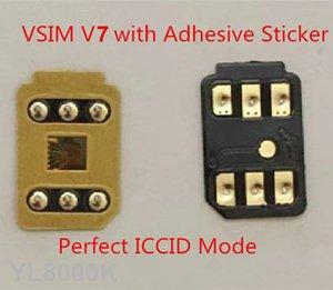 DHL libero adesivo di 3M VSIM V7 sblocca la carta automatico pop-up menu per ip6 6S 7 8 X XS XR XSMAX 11Pro Gevey pro