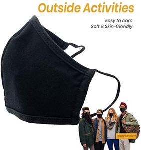En stock unisexes réutilisable Lavable Masque Mode couverture anti-poussière bouche visage Couvercle de protection Bandana Cagoules