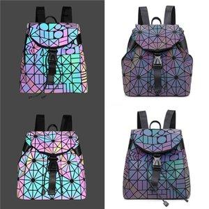 Designer-Women Girls Bowknot Shoulder Bag Laser Sling Pu Luminous Wallet Backpack #362