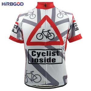 Luva HIRBGOD Dentro Unisex Men Short Cycling Jersey bicicleta Jersey roupa engraçada Maillot Wear roupa desenho animado ciclismo, HI169
