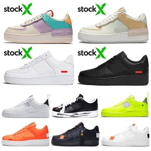 nike air force 1 forces one shoes scarpe da corsa per uomo donna bianco nero arancione rosso Mens trainer grano rosa Donna dunk 1 sport sneakers Scarpe outdoor