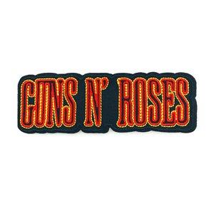 Guns N Roses-Rock-Band Punk Musik-Eisen auf Kleidung Flecken gestickten Aufnäher für Kleidung Abzeichen Aufkleber Garment Großhandel