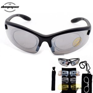 Sport Shooting glasses 4Lenses Sunglasses Military Tactical Goggles UV400 Protector Shooting Glasses Durable Goggle