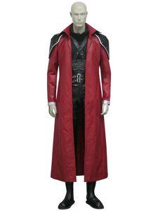 Trajes de Halloween trajes Final Fantasy VII Genesis Rhapsodos Cosplay Suit Uniform Full Set Femininos custume feita