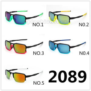 2089 marcas de gafas de sol de montar gafas deportivas para hombre gafas deportivas al por mayor cuadradas mujeres gafas de sol 5 colores envío gratis