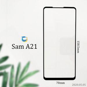 Per SAM A71 A21 A11 A10E LG K51 K31 Stylo 6 copertura completa Vetro temprato 9H 2.5D