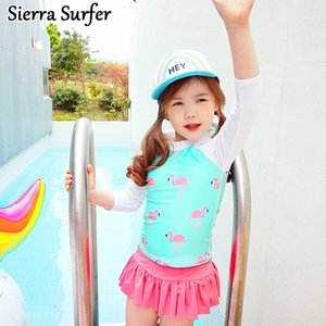 Traje de baño para niños Traje de baño para niñas Junior Summer New Baby Baby Princess Dress Biquini Infantil Menina Maillot De Bain