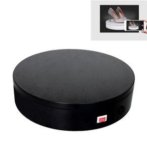 32 cm sabit hız 360 derece Elektrikli döner pikap ekran standı Video Çekim Sahne pikap için fotoğraf, yük 30 kg, ABD Plug