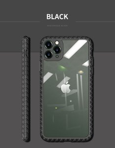 Kitted 1:1 mould openning of real phone prevent dust entering the light transmitting piece iPhone11anti-fall case support wirewless charge