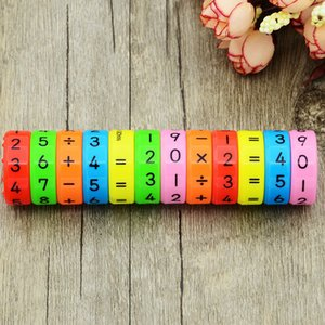 5 Pieces Magnetic Montessori Toys Early Learning Educational Toys For Children Math Business Numbers DIY Assembling Puzzles