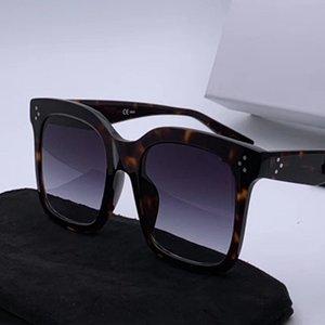 Luxo-41076 Luxo Óculos De Sol Para As Mulheres Popular Designer De Moda Goggle Designer de Proteção UV Cat Eye Quadro de Qualidade Superior Vem Com Pacote