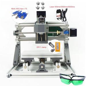 DIY의 레이저 CNC 1610 PRO 레이저없이 또는 레이저 헤드 2,500분의 500 / 5500mw 조각 기계 PCB의 밀링 나무 조각 기계 GRBL의 제어와