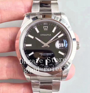 3 Couleur Montre Homme Homme Automatique Cal.3235 Montres EW Usine Blanc Noir Bleu Solid Steel Band 126300 Date de 126334 Cristal Montres-bracelets