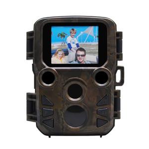 Sentiero per la fauna selvatica Photo Trap mini caccia fotocamera 12MP 1080P Impermeabile videoregistratore videocamere per la sicurezza Azienda agricola Trigger Trigger