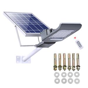 Güneş Sokak Işık Alacakaranlık Dawn Güneş Paneli IP66 Su Geçirmez Güneş Enerjili Sel Işık Açık Güvenlik Işık Fikstürü