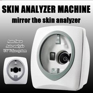 2019 NOVO !!! Espelho Mágico Analisador Facial Da Pele Analisador Inteligente Da Pele Facial Skin Analysis Machine de Análise Facial