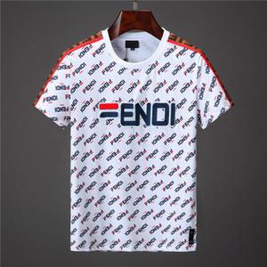 18-19 Diseñador italiano europeo Camisa de polo Marca de moda Medusa Camiseta de algodón casual para hombre M-3XL
