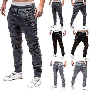 New Men Pants Sport Pants Long Trousers Tracksuit Fitness Workout Joggers Gym Sweatpants1