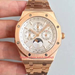 6 style BF Maker CAL.5134 Mouvement 41mm Royal Oak Offshore 26574 18k perpétuel Or Lune mécanique automatique Mens Watch Montres