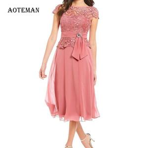 Summer Autumn Dress Women 2020 Elegant Sexy Hollow Out Lace Long Dress Vintage Plus Size Patchwork Chiffon A Line Party
