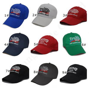 Embroidery Letter Make America Great Again Hats MAGA Donald Trump 2020 Supporter Caps Election Baseball Caps Adjustable Hat Snapback A121801