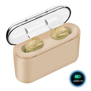 X8s tws fones de ouvido mini fones de ouvido sem fio Bluetooth 5.0 com caixa de carregamento Handsfree Handsfree Earbuds 5 horas Tempo de trabalho