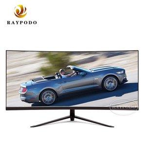 Raypodo 30 pouces Moniteur de jeu PC Courbe 2560 * 1080 200Hz avec haut-parleur intégré et lumière de la respiration