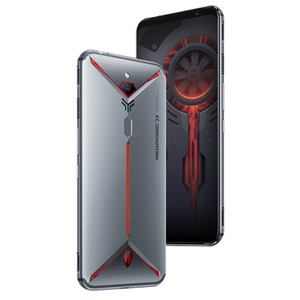 Nubia originale rouge magique 3S 4G LTE Cell Phone 8 Go de RAM 128Go ROM Snapdragon 855 plus 6,65 pouces plein écran 48.0MP ID d'empreintes digitales Téléphone mobile