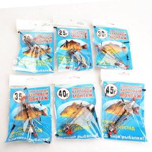 Crochet de poisson barbelé Printemps chaîne chaîne crochet Groupe de pêcheurs nouveau chevalier Bait Cage route Ya crochet crochet à plomb XYD-011
