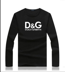 Stampa Lettera di Hip Hop di marca degli uomini del progettista SUPERA IL T-shirt Uomini maglietta maniche lunghe in cotone maglietta progettista delle donne Maglie a manica lunga