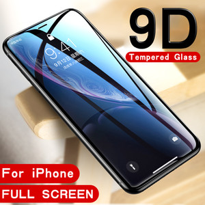 9D Tempered Glass for iphone 8plus 8 7 6 6s plus 7plus Screen protector Protective Glass for apple iphone x xs max xr s r xsmax