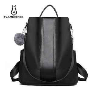 New fashion casual pu women anti-theft backpack 2019 hight quality vintage backpacks female larger capacity school shoulder bag