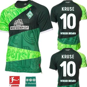 1899 SV Werder Bremen retro # 10 KRUSE 2019 2020 Werder Bremen 120 aniversario camisetas de fútbol 19 20 Werder Bremen PIZARRO camiseta de fútbol