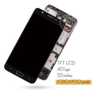 Display per Samsung Galaxy J7 Prime 2016 del foro doppio LCD Touch Screen con la pagina G610 G610F G610M per SAMSUNG J7 Prime