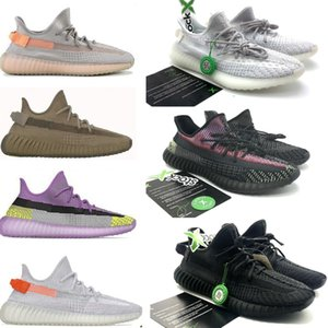 2020 Kanye West Мужчины Женщины кроссовки Yecheil Yeezreel Hyperspace Lundmark Antlia Static Светоотражающие Zebra Designer обувь