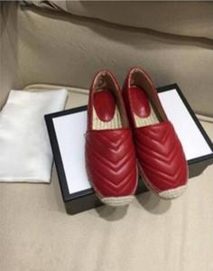 2020 clásico del verano mujeres de las sandalias del Bajo-Top Alpargatas Pescador zapatos de lujo de diseño de los holgazanes suela de goma Slip-en los zapatos 35-40