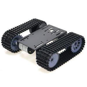 Оптовая TP101 Smart Tank Шасси с гусеничным шасси Пульт дистанционного управления Платформа с двумя двигателями постоянного тока для Arduino 2018 Новое прибытие