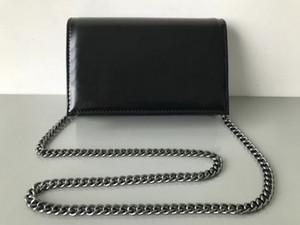 Venta de la manera mujeres de los bolsos de hombro carta carta de estilo G Carteras Mujer cadena de cuero bolsa de Crossbody bolsos del bolso
